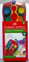 12er Farbkasten Connector Deckfarbkasten by Faber Castell Malkasten Tuschkasten