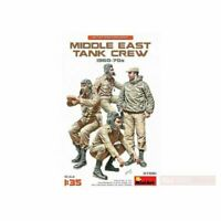 MIN37061 Miniart 1:35 Scale Model Kit - Middle East Tank Crew 1960-70's