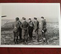 foto  Luftwaffe  jagdflieger jg26 mietusch und Vogt fw190 1943