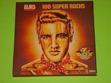 """ELVIS PRESLEY - 100 SUPER ROCKS / 7 LP BOX  ( 12"""" ) incl. SUPER POSTER / RCA"""