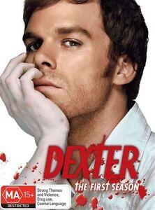 Dexter : Season 1 (DVD, 2008, 5-Disc Set) Bran Snes Free Post