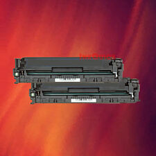 2 Black Toner CB540A 40A for HP LaserJet CP1518ni