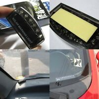 Solar 6LED Blue Auto Charger Car Burglar Alarm Warning Light Sensor Security