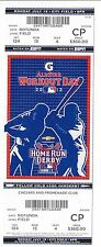 2013 MLB ALL STAR GAME HOME RUN DERBY WORKOUT DAY TICKET STUB 7/15/13 FV $360