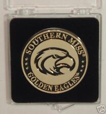 SOUTHERN MISS GOLDEN EAGLES HOLDEM POKER CARD GUARD PROTECTOR COIN