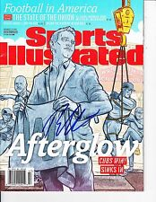 CHICAGO CUBS THEO EPSTEIN SIGNED SPORTS ILLUSTRATED 11/21/2016