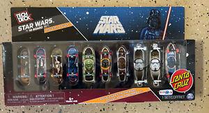 Star Wars Tech Deck 10 Board Set Santa Cruz Skateboard ToysRus Exclusive Fett