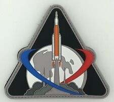 Artemis One 1 PVC Patch NASA Mission Space Launch System Orion Moon Lune SpaceX