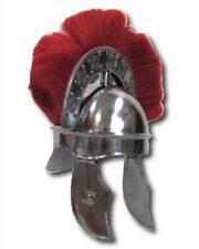 1.5MM Steel  Medieval Roman Armor Helmet With Plume