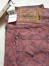 NWT RARE Levi's x Nike By You Capsule Collection 501 W29L32