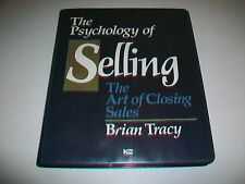 Brian Tracy THE PSYCHOLOGY OF SELLING ART OF CLOSING THE DEAL cassette series