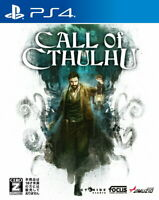 Call of Cthulhu Sony Playstation 4 PS4 Video Games From Japan Tracking USED