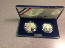 1993 bill of rights set  2 coins
