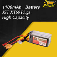 ZOP Power 14.8V 1100mAh 75C 4S Lipo Battery JST XT60 Plug For RC Racing Drone