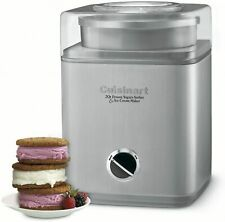 Cuisinart Ice Cream Maker Machine Frozen Yogurt Sorbet Cool Dessert 2-Quart
