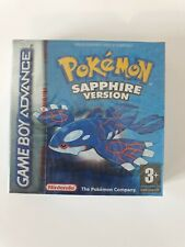 POKEMON SAPPHIRE Nintendo Gameboy ADVANCE Game boy NEW FACTORY SEALED RED STRIP