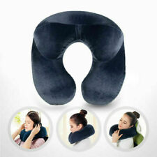 U Shape Inflatable Airplane Sleep Neck Support Travel Pillow for Car Flight Rest