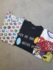 Mens T-Shirt Bundle size Medium (Retro Gaming)
