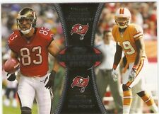 2012 Topps Paramount Pairs #PAJW Vincent Jackson/Mike Williams Buccaners