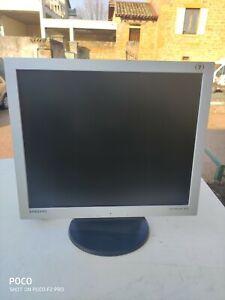 ECRAN LCD 17 POUCES 5/4 SAMSUNG SYNCMASTER 172V OCCASION TESTE (4354)