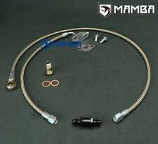 Mamba turbo OIL FEED Line Kit Ford BA BF XR6 FPV F6 avec Garrett GT3788R GT4088R