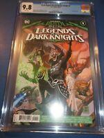 Death Metal Legends of the Dark Knights #1 CGC 9.8 NM/M 1st Robin King Key