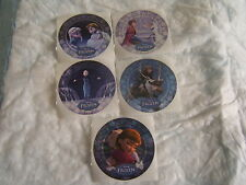 5-Disney Frozen Glitter  Movie  Stickers Party Favors