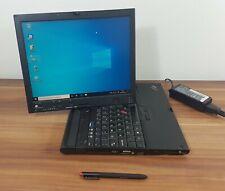 Business Tablet Notebook IBM Thinkpad X60t 1,83 GHz WLan Gig LAN Fingerpr. Win10