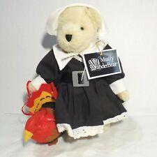 New ListingNabc Muffy Vanderbear Thanksgiving Pilgrim & Turkey by North American Bear Co