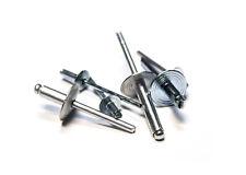 (2000) (6-10LF) POP Blind Rivets - Large Flange Aluminum - 3/16 (.501-.625 Grip)