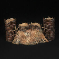 Tin soldiers, 54mm, Set of artillery fortifications, (3 parts)