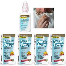 4 Allergie Sinus Nasal Spray Décongestionnant Brume 12 Heure Mucus Soulagement