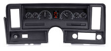 1969-76 Chevrolet Nova Black Alloy Dakota Digital HDX Custom Analog Gauge Kit