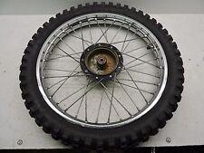 Kawasaki KX 80 kx80 1979 Front Wheel Tire Rim  Moto Cross D27