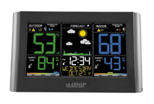 LACROSSE TECHNOLOGY C85845 Wireless Color Weather Forecast Station - Black