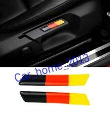 2PCS Car German flag Seat Lift Wrench Sticker For VW GOLF 5 6 MK5 MK6 GTI