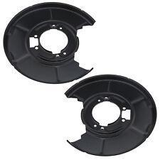 Left & Right Rear Disc Brake Backing Plate Splash Dust Shield OE 34211158992