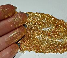 Super Light Gold Synthetic Mica Glitter/Shimmer 10g Nail Art Crafts Soaps Etc