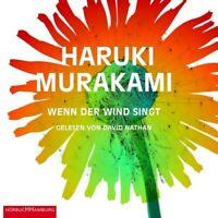 DAVID NATHAN - HARUKI MURAKAMI: WENN DER WIND SINGT 4 CD NEW