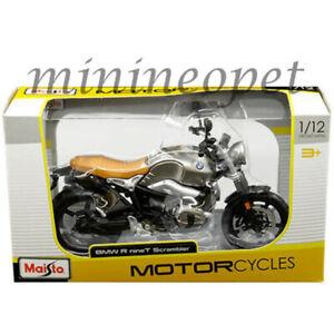 MAISTO 07505 BMW R NINET SCRAMBLER MOTORCYCLE BIKE 1/12 SILVER