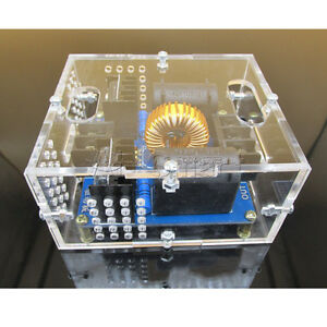 ZVS Tesla Coil Marx Generator High Voltage Power Supply Module + Case DC 12V-30V