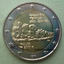 Malta 2 Euro Gedenkmünze 2017 Hagar Qim Tempel Euromünze Münzzeichen MdP