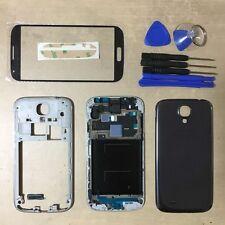 Full Housing Case Cover + Screen Glass For Samsung Galaxy S4 ATT I337 M919 Black