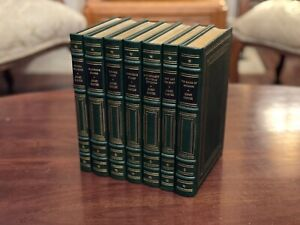 PRESIDENT JIMMY CARTER SIGNED EASTON PRESS 7 VOLUME LIMITED EDITION RECKONING ++