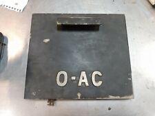 New Listingwarner And Swasey 0 Ac Lathe Control Panel Door