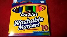Cra-Z-Art Washable bold & Classic Markers, 10-Pack,