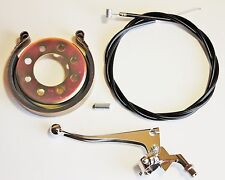 Mini Bike Brake Kit With Band, Drum, Cable Set And Professional Lever. Usa!
