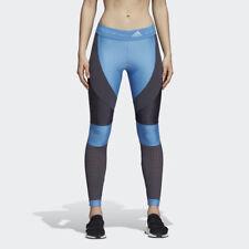 Adidas Stella McCartney Run Long Tights Women's XS- Storm Blue/ Night Steel