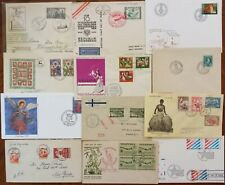 CHARMING 14 WW 🌐 VINTAGE HISTORICAL FDC FIRST DAY remarkable collection