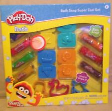 Kids Children's boxed Gift Set Play-doh Bath Set Soap cookie cutters molds toys